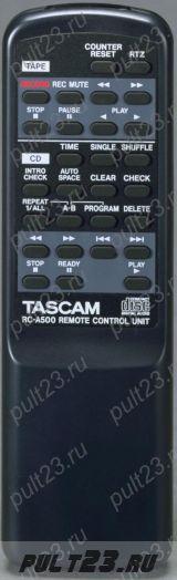 TASCAM RC-A500, CD-A500, CD-A700